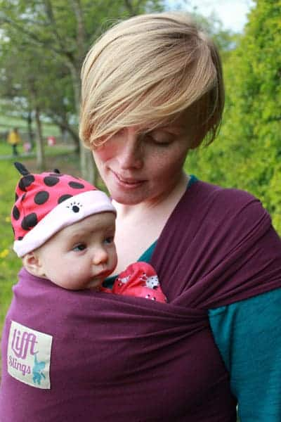 Baby Carriers Lifft Stretchy Wrap Pitter Patter Baby NI 5