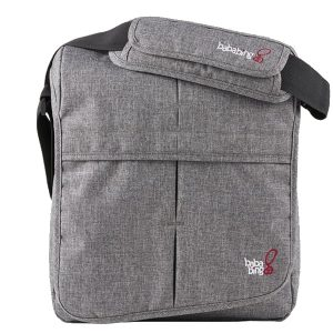 Changing Bags Bababing-DayTripper Lite Changing Bag – Grey Marl Pitter Patter Baby NI
