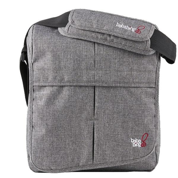 Changing Bags Bababing-DayTripper Lite Changing Bag – Grey Marl Pitter Patter Baby NI 3