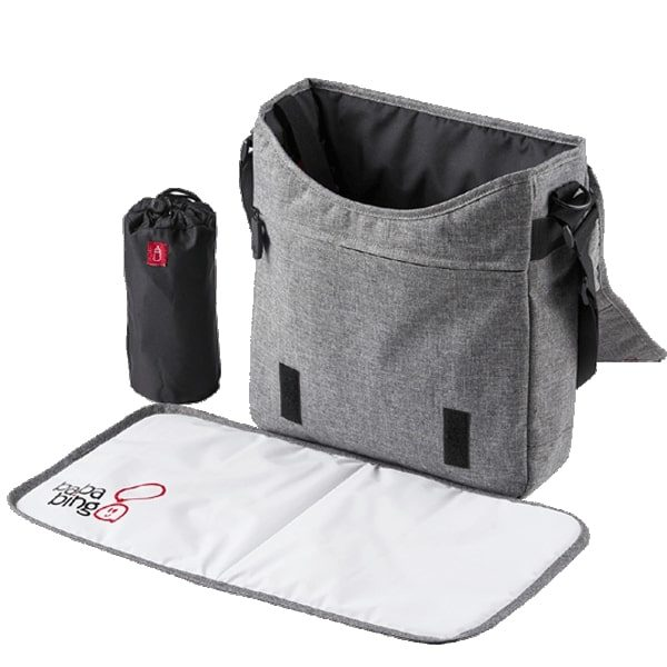 Changing Bags Bababing-DayTripper Lite Changing Bag – Grey Marl Pitter Patter Baby NI 6