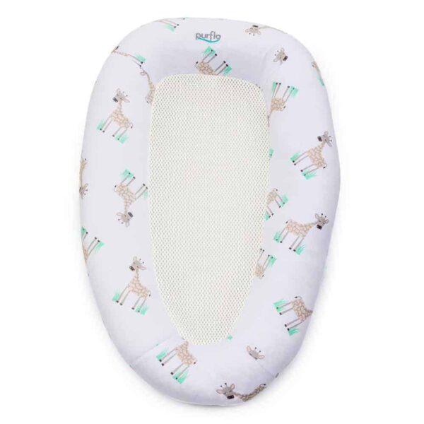 Baby sleep pods PurAir Breathable Baby Nest – Giraffe Pitter Patter Baby NI 5