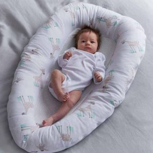 PurAir Breathable Baby Nest – Giraffe