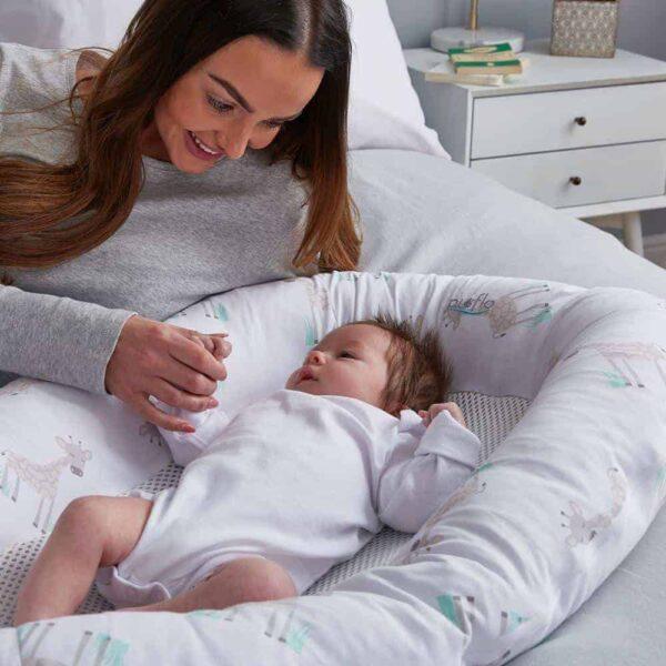 Baby sleep pods PurAir Breathable Baby Nest – Giraffe Pitter Patter Baby NI 8