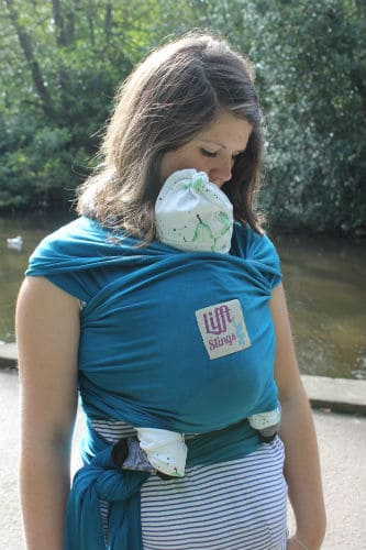 Baby Carriers Lifft Stretchy Wrap Pitter Patter Baby NI 8