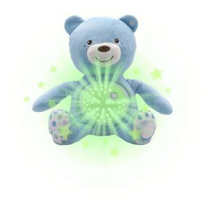 Night Lights & Cot Mobiles Chicco Baby Bear Blue Projector Pitter Patter Baby NI