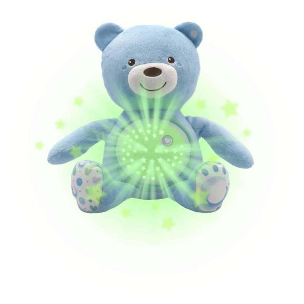 Night Lights & Cot Mobiles Chicco Baby Bear Blue Projector Pitter Patter Baby NI 4