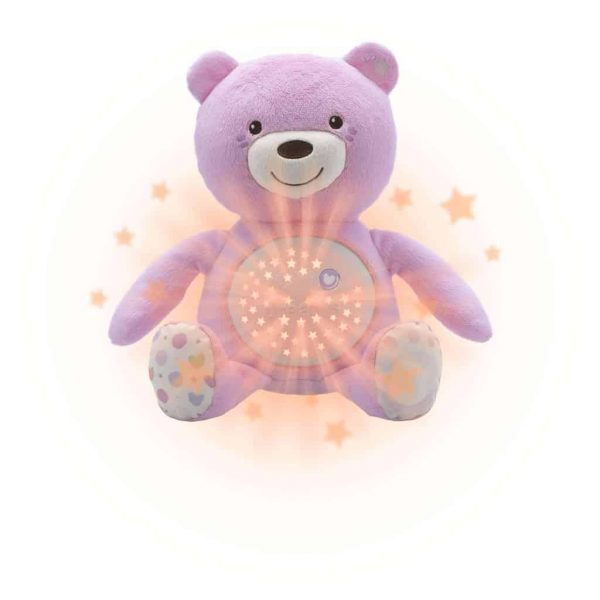 Night Lights & Cot Mobiles Chicco Baby Bear Projector Pink Pitter Patter Baby NI 4