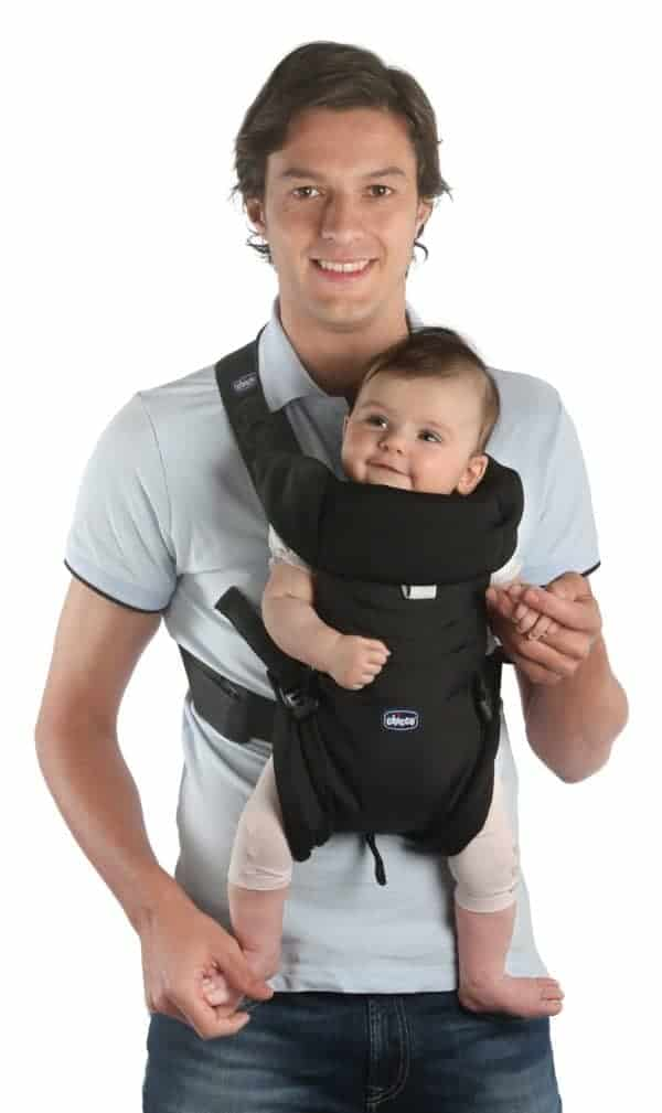 Baby Carriers Chicco Easyfit Baby Carrier – Black Pitter Patter Baby NI 5