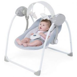 Bouncers & Rockers Chicco relax and play swing cool grey Pitter Patter Baby NI