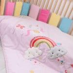Cot Bed Bumper Wraps