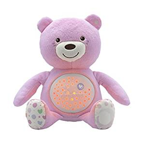 Night Lights & Cot Mobiles Chicco Baby Bear Projector Pink Pitter Patter Baby NI 5