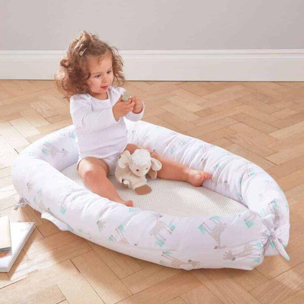Baby sleep pods PurAir Breathable Nest Maxi – Giraffe Pitter Patter Baby NI 7