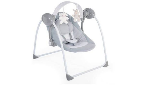 Bouncers & Rockers Chicco relax and play swing cool grey Pitter Patter Baby NI 7