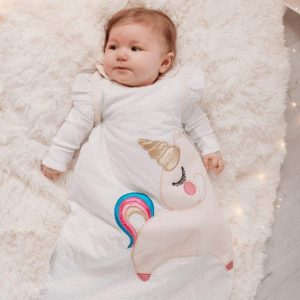 Blankets & Sleeping Bags Unicorn baby sleeping bag- 2.5 Tog Pitter Patter Baby NI
