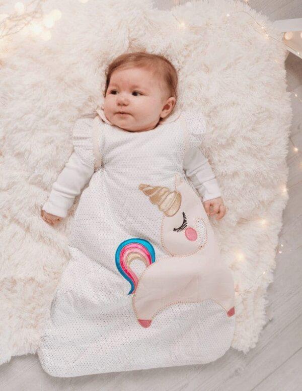 Blankets & Sleeping Bags Unicorn baby sleeping bag- 2.5 Tog Pitter Patter Baby NI 4