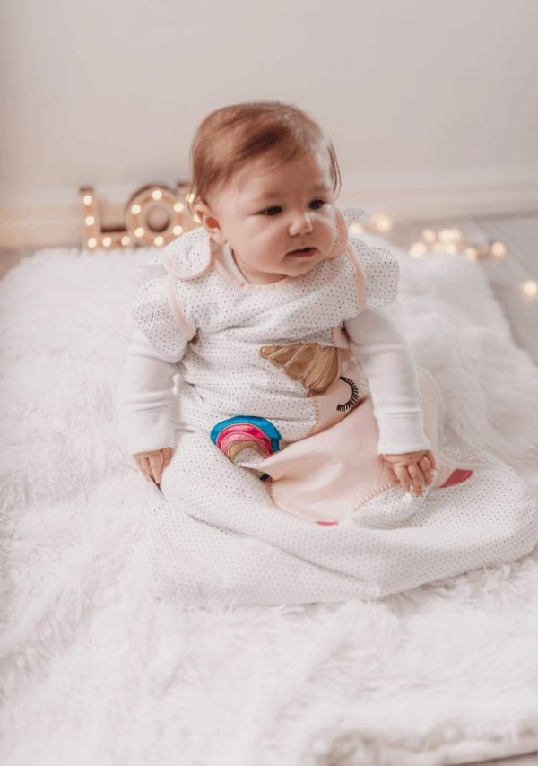 Blankets & Sleeping Bags Unicorn baby sleeping bag- 2.5 Tog Pitter Patter Baby NI 7