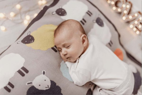 Bedding The Flock knitted blanket Pitter Patter Baby NI 5