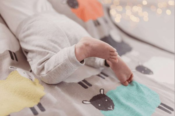 Bedding The Flock knitted blanket Pitter Patter Baby NI 6