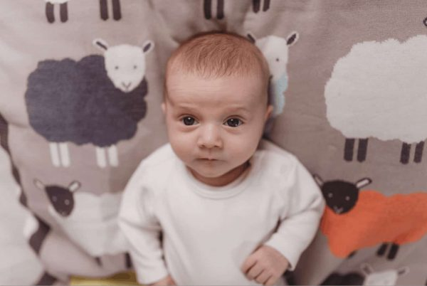Bedding The Flock knitted blanket Pitter Patter Baby NI 7