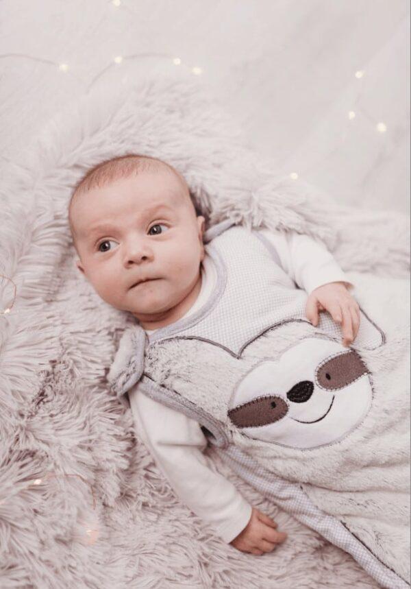 Baby Gifts Baby Sleeping Bag- Sidney Sloth 2.5 Tog Pitter Patter Baby NI 5