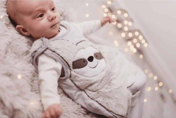 Baby Gifts Baby Sleeping Bag- Sidney Sloth 2.5 Tog Pitter Patter Baby NI 4