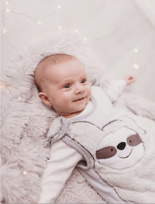 Baby Gifts Baby Sleeping Bag- Sidney Sloth 2.5 Tog Pitter Patter Baby NI 8