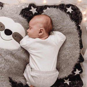Sidney Sloth baby blanket