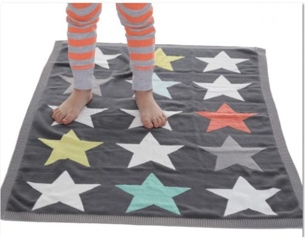 Blankets & Sleeping Bags Superstar knitted blanket Pitter Patter Baby NI 7