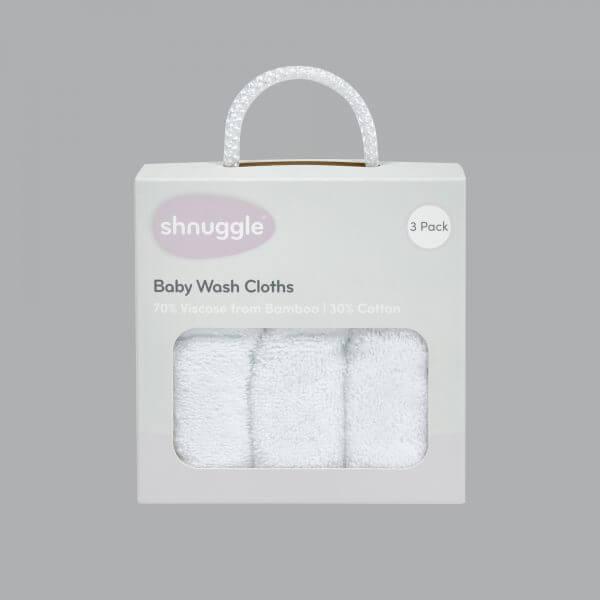 Feeding Shnuggle Washcloths Pitter Patter Baby NI 4