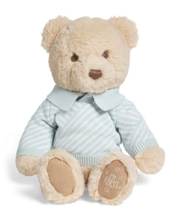 Baby Gifts My First Bear – Blue Pitter Patter Baby NI 4