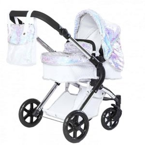 Roma Polly Amy Childs Single Dolls Pram – Mermaid 3-9 years