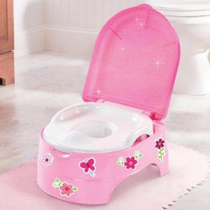 Potty Training My fun Potty /Step stool Pitter Patter Baby NI