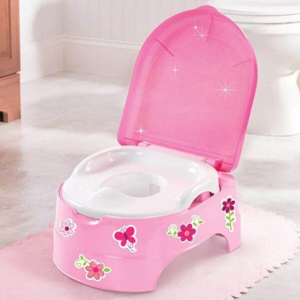 Potty Training My fun Potty /Step stool Pitter Patter Baby NI 4