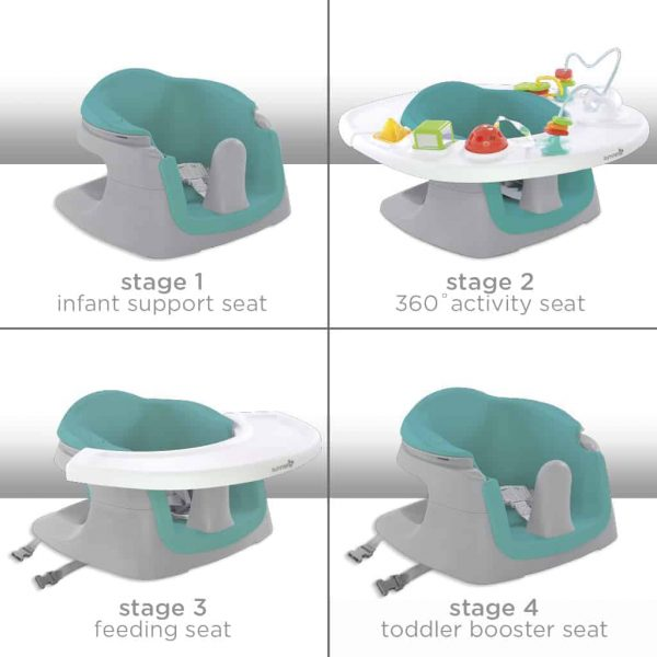 Booster Seats 4 IN 1 SUPERSEAT activity seat Pitter Patter Baby NI 6