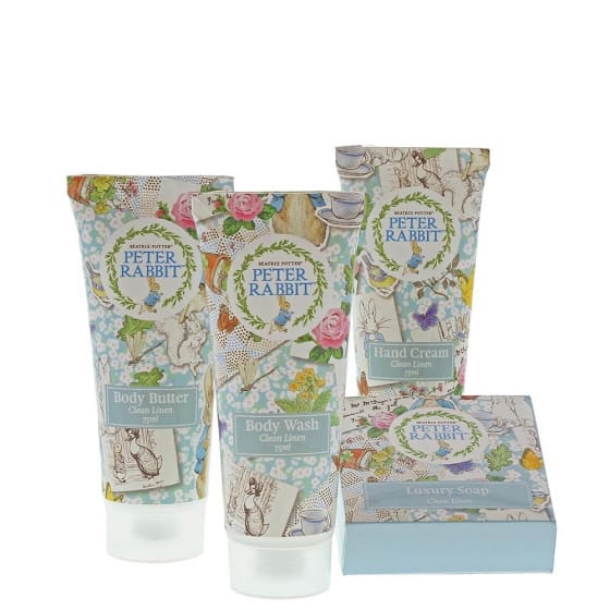 Baby Gifts Peter Rabbit Clean Linen Gift Set Pitter Patter Baby NI 5