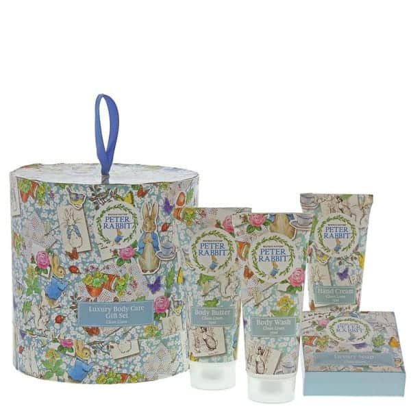 Baby Gifts Peter Rabbit Clean Linen Gift Set Pitter Patter Baby NI 4