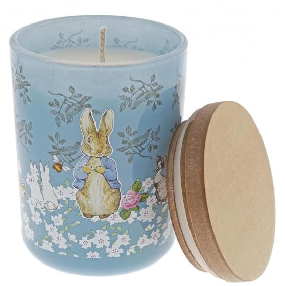 Christmas Peter Rabbit Clean Linen Candle Pitter Patter Baby NI 4