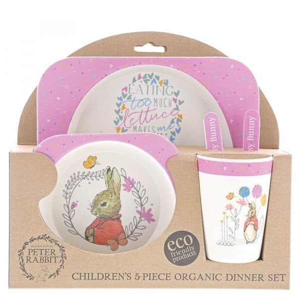 Baby Gifts Flopsy Bamboo Dinner Set Pitter Patter Baby NI 6