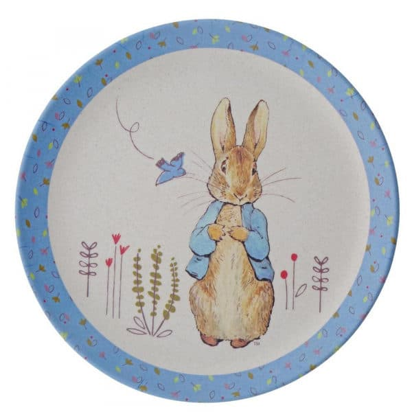 Christmas Peter Rabbit Bamboo Egg Cup Dinner Set Pitter Patter Baby NI 6