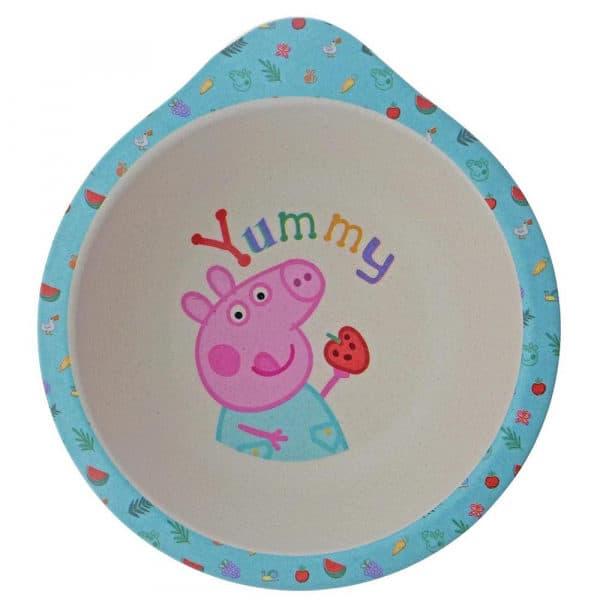 Dinner sets Peppa Pig Bamboo Dinner Set Pitter Patter Baby NI 6