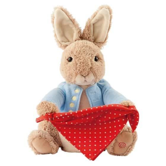 Toys Peter Rabbit Peek-a-Boo Pitter Patter Baby NI 4