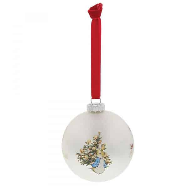 Christmas Peter Rabbit My First Christmas Bauble Pitter Patter Baby NI 5