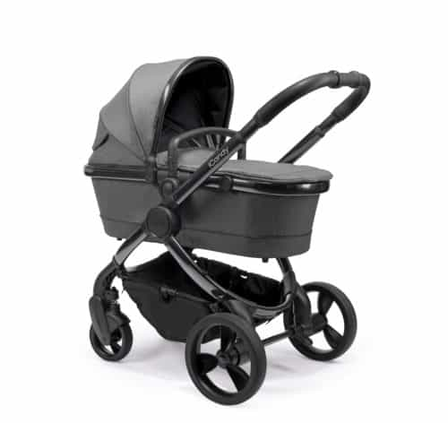 Travel Systems Peach Pushchair and Carrycot Grey Twill on Phantom Pitter Patter Baby NI 11