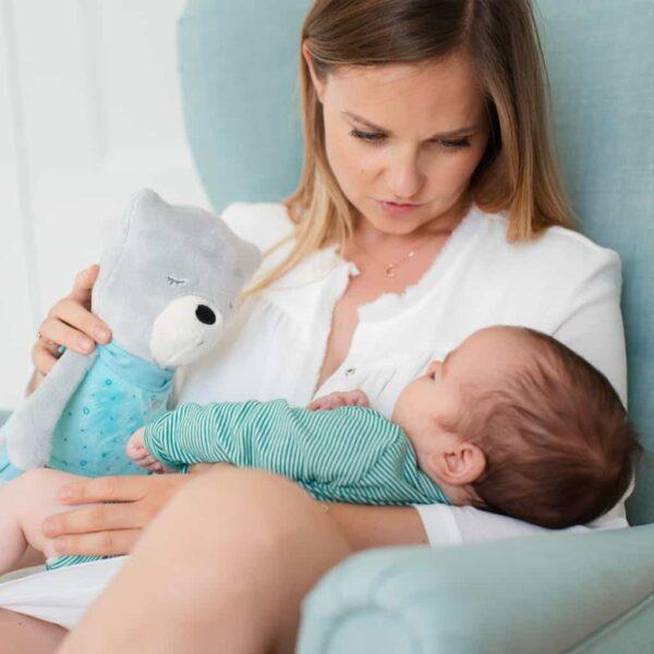 Night Lights & Cot Mobiles myHummy Mummy Bear Sleep Aid Pitter Patter Baby NI 9