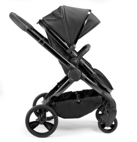 Travel Systems Peach Pushchair and Carrycot Grey Twill on Phantom Pitter Patter Baby NI 10