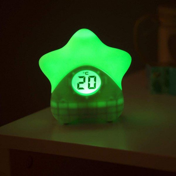 Night Lights & Cot Mobiles Starlight Room Thermometer Pitter Patter Baby NI 9