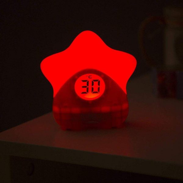 Night Lights & Cot Mobiles Starlight Room Thermometer Pitter Patter Baby NI 7