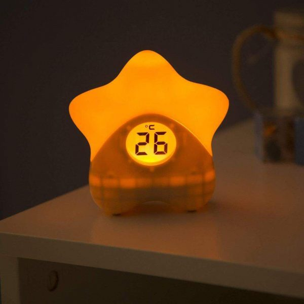 Night Lights & Cot Mobiles Starlight Room Thermometer Pitter Patter Baby NI 8