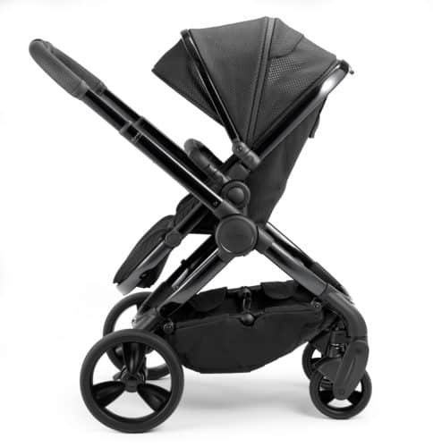 Travel Systems Peach Pushchair and Carrycot Grey Twill on Phantom Pitter Patter Baby NI 9