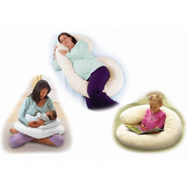 Pregnancy Support Pillows Ultimate Comfort Body Pillow Pitter Patter Baby NI 6